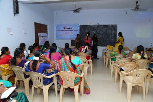 Training for the Government School Teachers -  Krishnagiri
